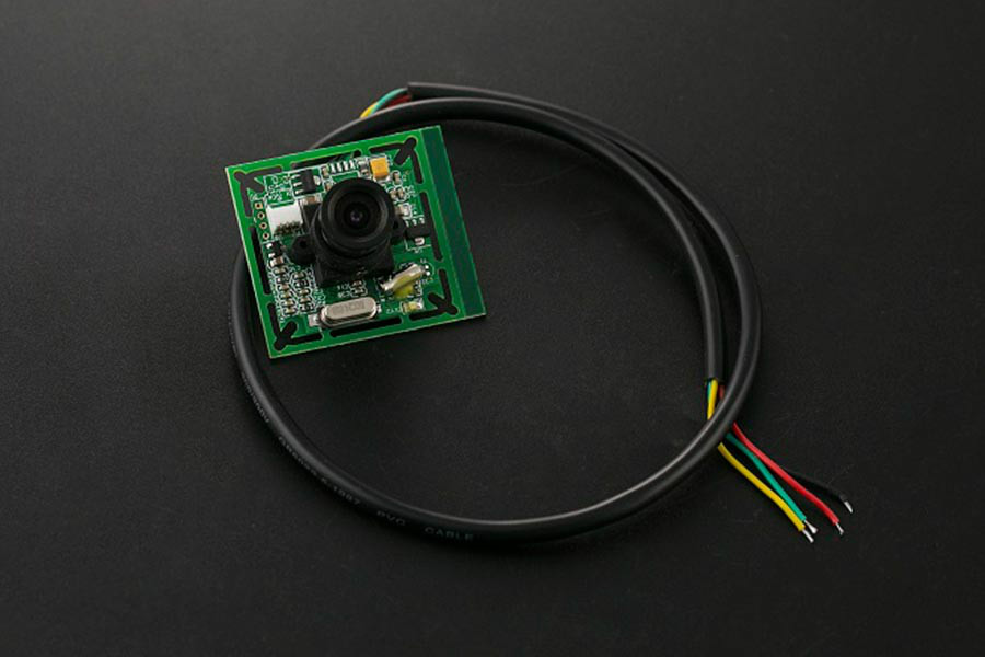 0.3M Pixel Serial JPEG Camera Module For Arduino