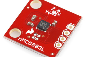 Triple Axis Magneiometer Breakout - HMC5883L (Discontinued)