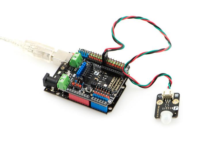 Gravity: Arduino PIR (Motion) Sensor -DFRobot