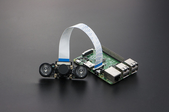 5MP Night Vision Camera for Raspberry Pi (Compatible with Raspberry Pi 4B)