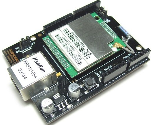 WIFI Shield  For Arduino (802.11 b/g) (Discontinued)