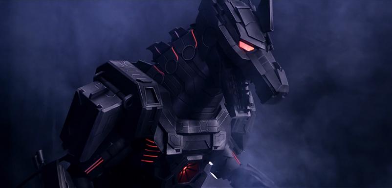 Behind The Scenes of Wearable MechaGodzilla Armor
