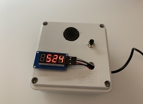 Cool Timer with Voice synthesizer