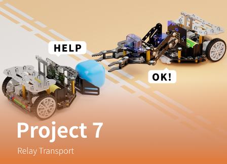 Relay Transport | Maqueen Plus Advanced Tutorial Lesson 7