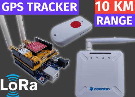 LoRaWAN Tutorial| GPS Tracker With Dragino Gateway