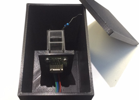 Spectrophotometer Experiment Based on AS7341 Spectral Sensor