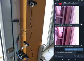 IoT | Telegram Fingerprint Door Lock and Surveillance Camera w/ Night Vision