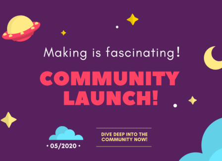DFRobot Maker Community Launch!