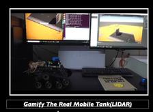 Gamification of Robotics(Mobile Tank) -LIDAR