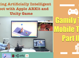 Gamification of Robotics(Mobile Tank) -Autonomous Mode