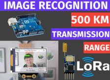 LoRa Image and Video transmission wireless | AI on HuskyLens from DFRobot