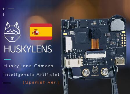 [Spanish ver.] HuskyLens Cámara Inteligencia Artificial