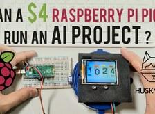 CAN A $4 RASPBERRY PI PICO RUN AN AI PROJECT?