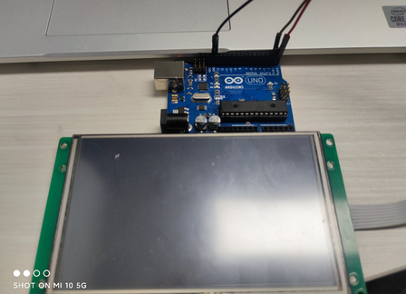 Controlling the lights on the Arduino through STONE LCD