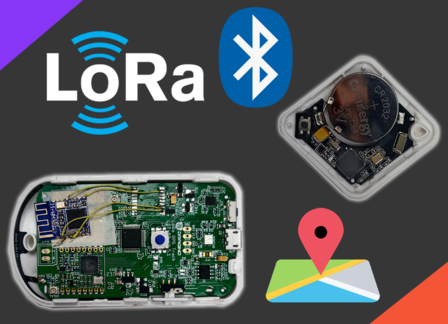 BLE & LoRa based Indoor Location Tracker without GPSd