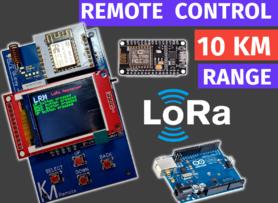 LoRa Based Remote Controller | Universal Remote Controller