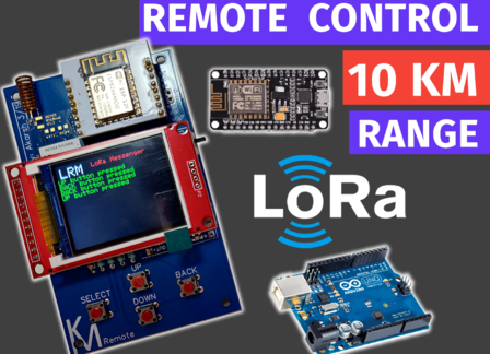 LoRa Based Remote Controller | Universal Remote Controller