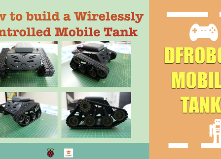 Wireless Controlled Mobile Tank