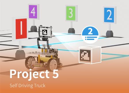 Self Driving Truck | Maqueen Plus Advanced Tutorial Lesson 5