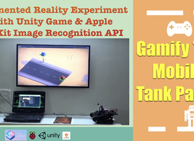 Gamify The Real Mobile Tank - Augmented Reality Update