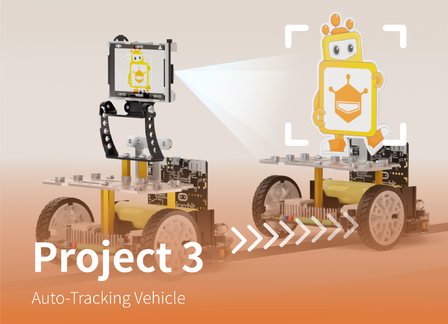 Auto-Tracking Vehicle | Maqueen Plus Advanced Tutorial Lesson 3