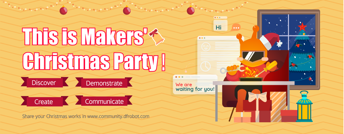 Makers' Christmas Online Party