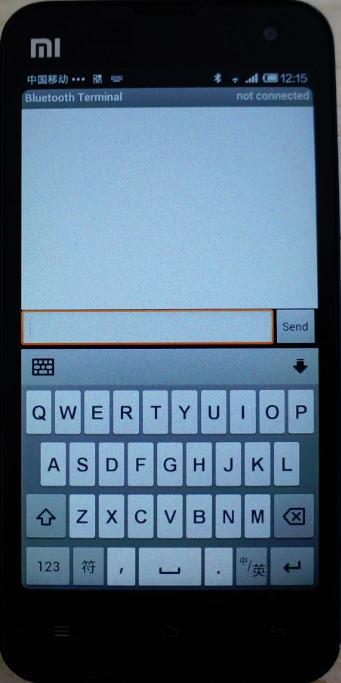 Bluetooth Terminal Interface