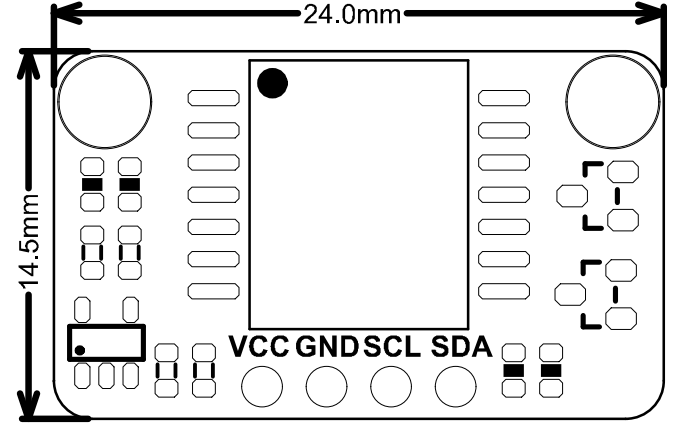 SEN0343-Dimension