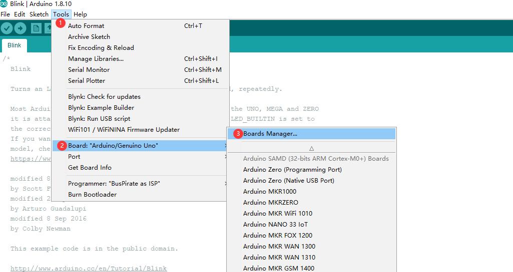 Arduino IDE Setup