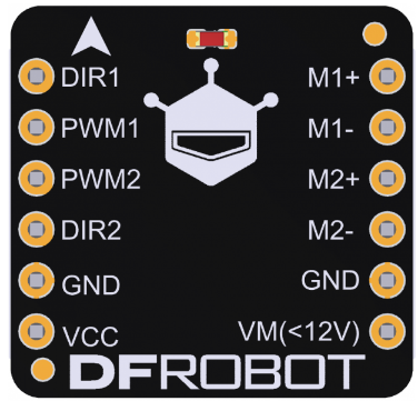 2x1.2A DC Motor Driver (TB6612FNG)