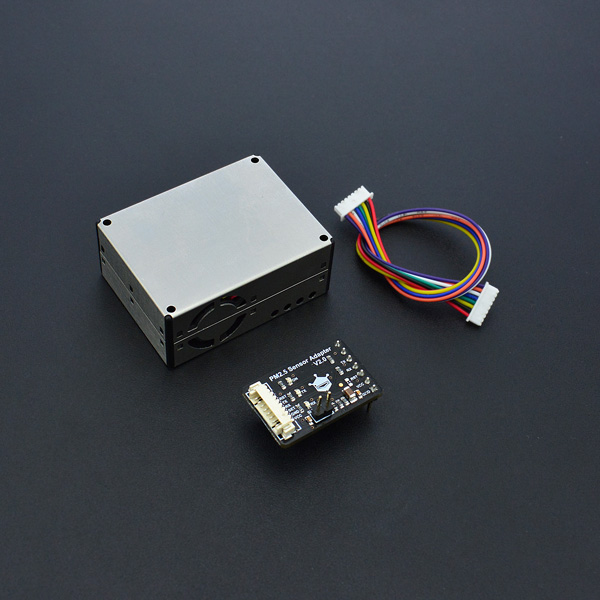 SEN0233 Air Quality Monitor (PM 2.5, Formaldehyde, Temperature & Humidity Sensor)