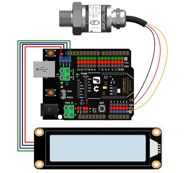 SEN0257 Water Pressure Detector