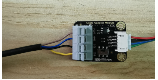 Sensor with adapter