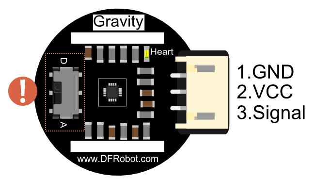 SEN0203 Heart Rate Monitor Sensor for Arduino Board Overview