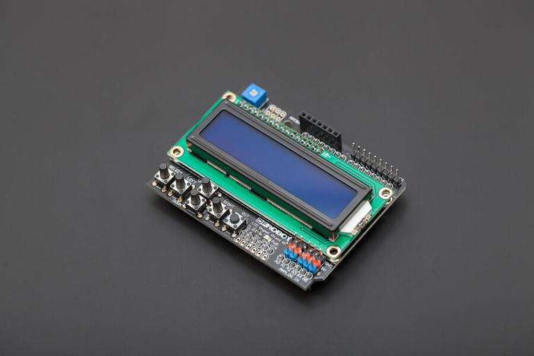 Keypad Shield Blue Backlight for Arduino Robot LCD 1602 Board Monitors