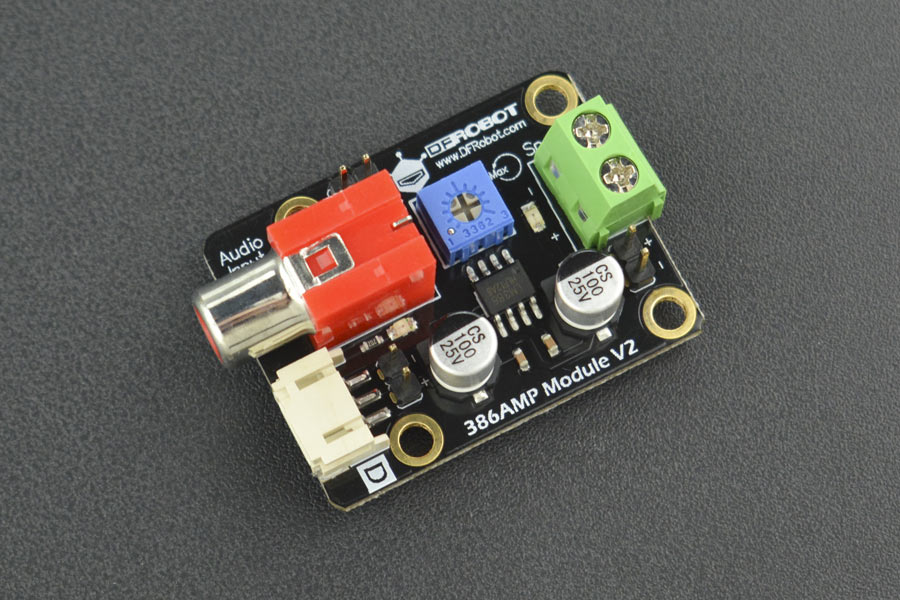 Gravity: 386AMP Audio Amplifier Module (Arduino Compatible)