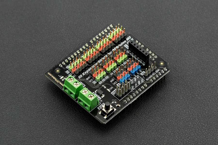 Gravity: IO Expansion Shield for DFRduino M0