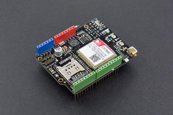 SIM7000C Arduino NB-IoT/LTE/GPRS/GPS Expansion Shield
