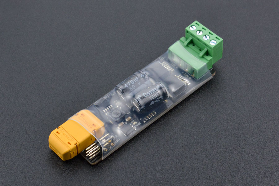 PPM 2x3A DC Motor Driver