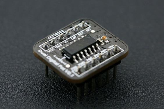 Fermion: Dual Digital Potentiometer - 100K (Breakout)