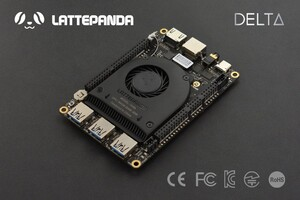 LattePanda Delta 432 – Tiny Ultimate Windows / Linux Device 4GB/32GB