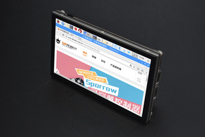 5'' 800x480 TFT Raspberry Pi DSI Touchscreen(Compatible with Raspberry Pi 3B/3B+/4B)