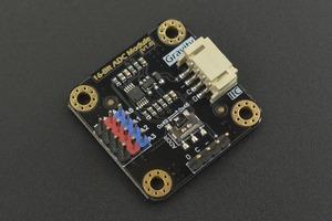 Gravity: I2C ADS1115 16-Bit ADC Module (Arduino & Raspberry Pi Compatible)