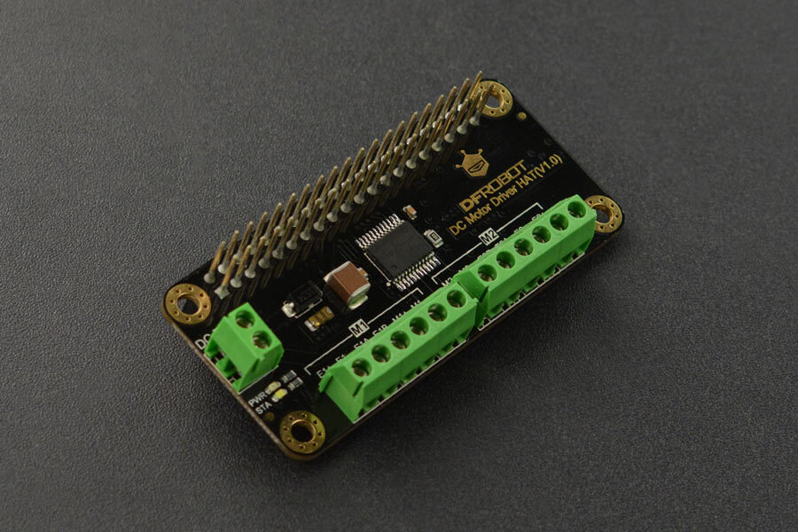 DC Motor Driver HAT(V1.0) for Raspberry Pi