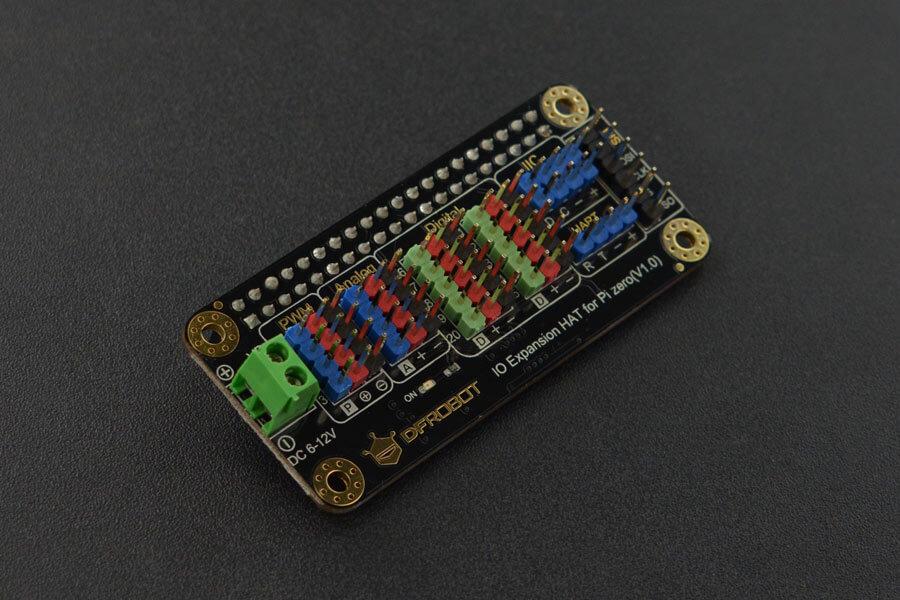 IO Expansion HAT for Raspberry Pi Zero/Zero W