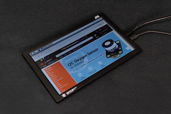 "10.1"" 800x1280 mini-HDMI IPS Display (Compatible with Raspberry Pi & LattePanda Alpha)"