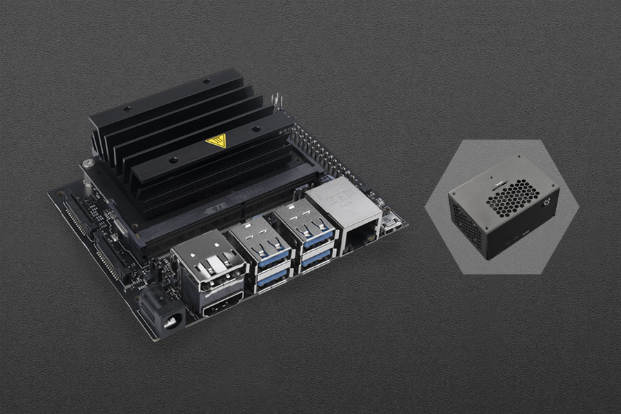 NVIDIA Jetson Nano Developer Kit with Cooling Case