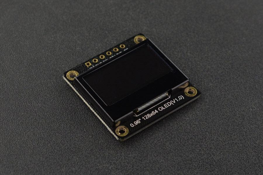 "Fermion: Monochrome 0.96"" 128x64 I2C/SPI OLED Display (Breakout)"