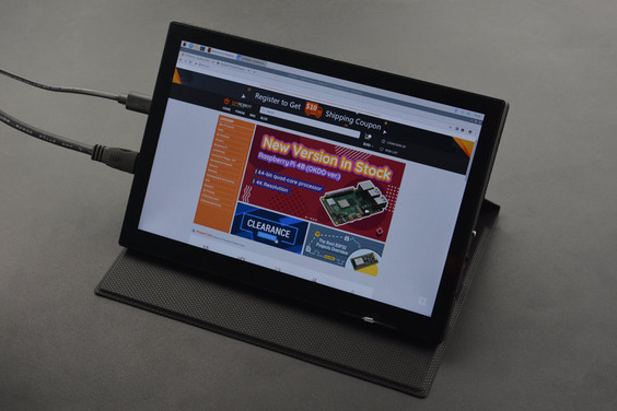 "8.9""1920x1200IPSTouchDisplay (Compatible with Raspberry Pi 4B/3B+&Jetson Nano&LattePanda)"