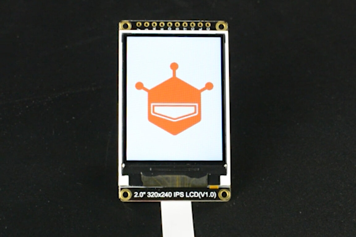 "Fermion: 2.0"" 320x240 IPS TFT LCD Display with MicroSD Card (Breakout)"